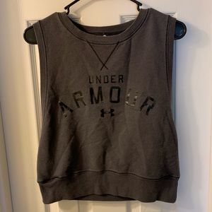Under Armour Crop Muscle Tank